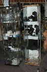 Detail produktu Prosklená vitrína.UKAZKA Sestavy