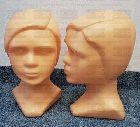 Detail produktu Plastová hlava, béžová