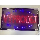 Detail produktu Informační display s LED diodami VYPRODEJ