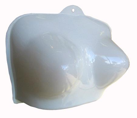 Detail produktu Torzo prsa, bílá.