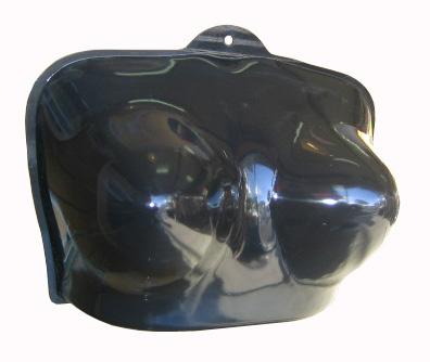 sexy černý eben zadek