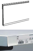 Detail produktu Cenová lišta průhledná 100cm.