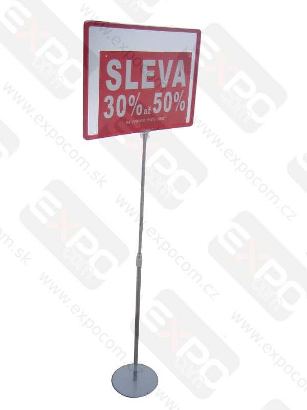 Detail produktu Stojan na plakát A3Rámeček červený