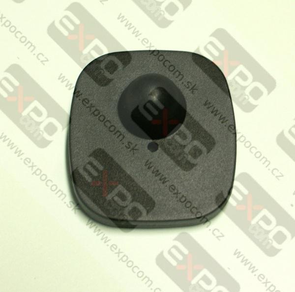 Detail produktu Pevná etiketa 42x46mm černá.
