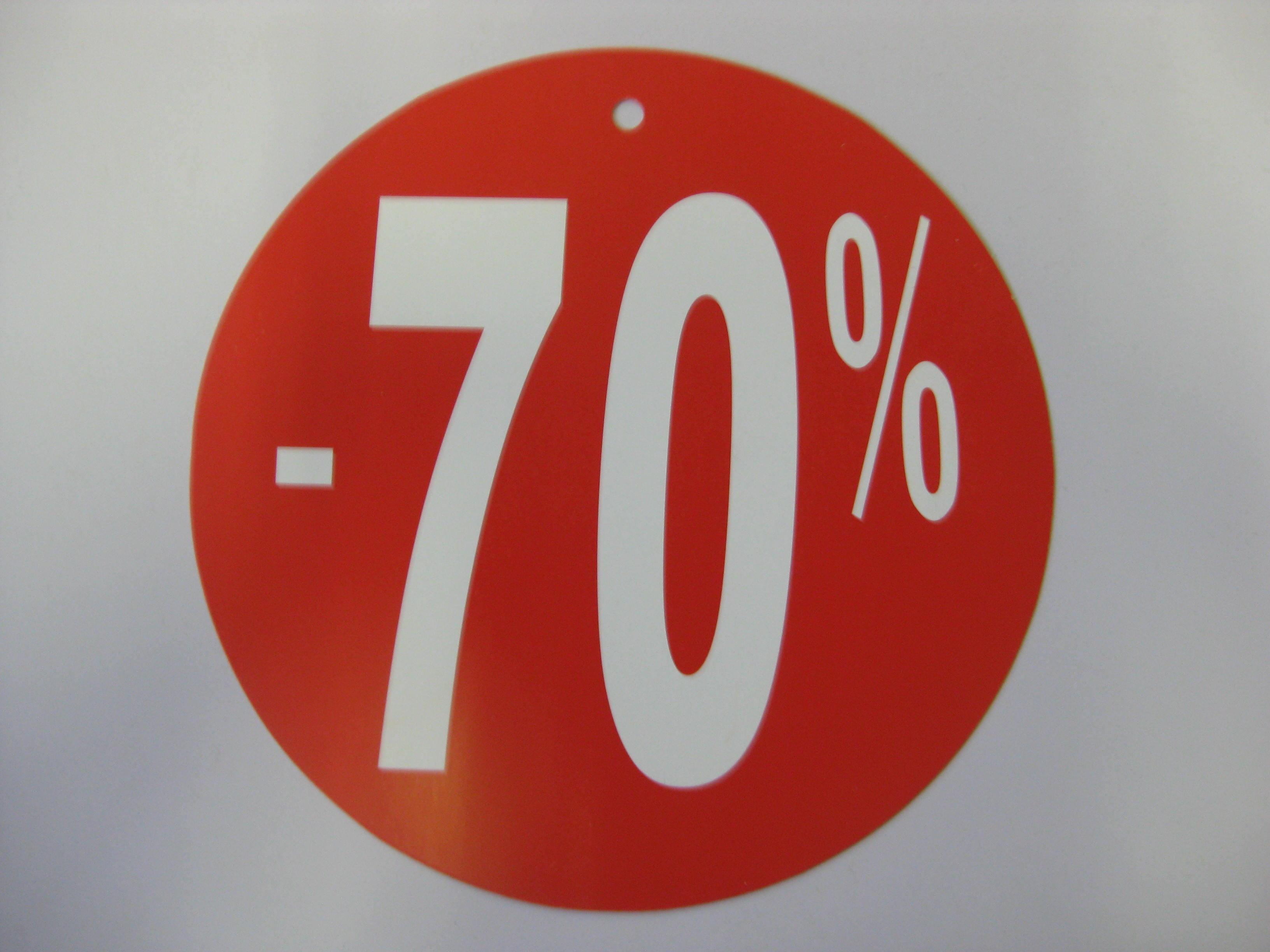 Detail produktu -70%Cedule kulatá Ø24cm.