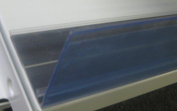 Detail produktu Magnetické přední zábradlí prúhledné 100cm.