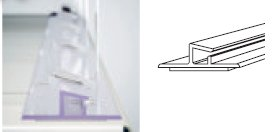 Detail produktu Zadná kotviaca lišta 100cm