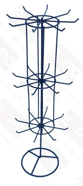 Detail produktu Pultový stojánek 3-patrový.