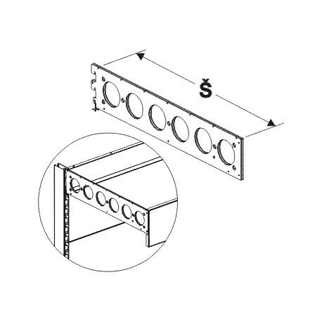 Detail produktu Nosník zastřešení 62,5x13cm.