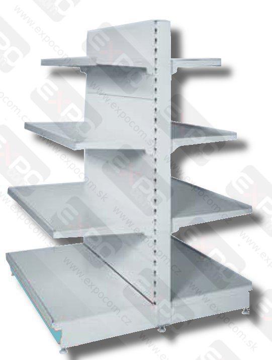 Detail produktu Regálová policová sestava v:160cm oboustranná