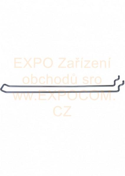 Detail produktu Euro hák konzola 20cm pro děrovaný panel