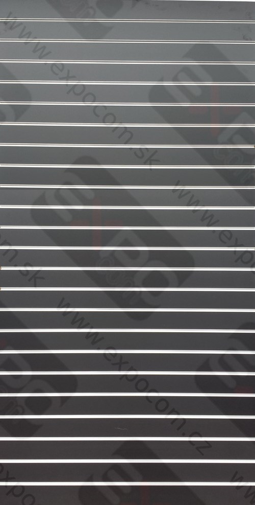 Detail produktu Drážkový panel Výška244xŠířka122cm