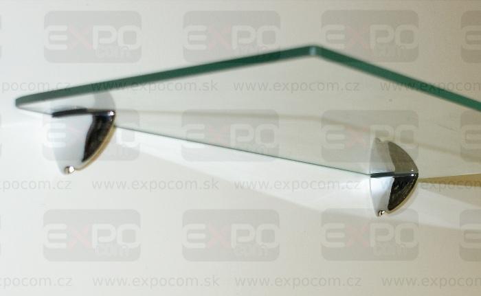 Detail produktu Držák skla,dřevěné police 40mm