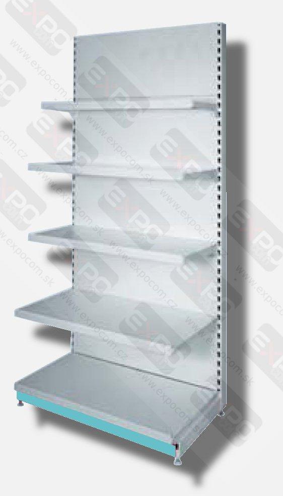 Detail produktu použitý regál Sestava v:180cm, jednostranná